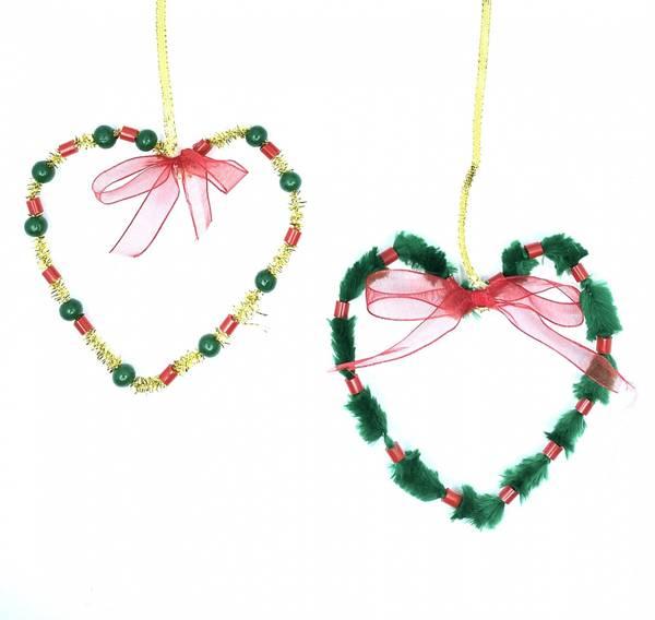 Bilde av Hobbypakke Jul, Grønn Perlekrans