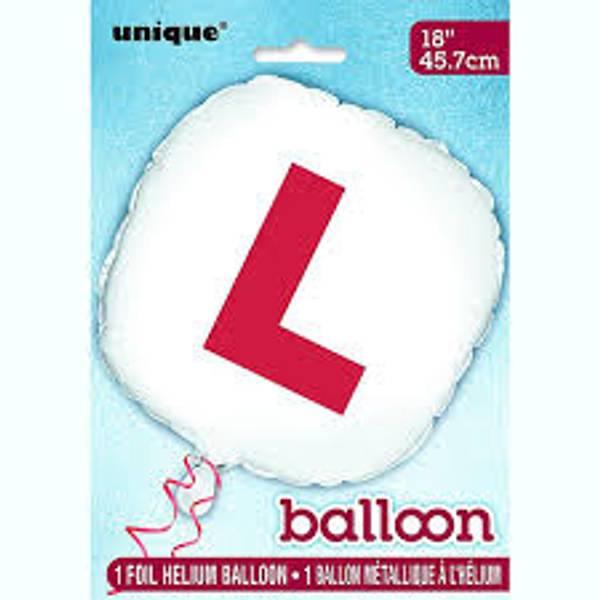 Bilde av L-Folie ballong