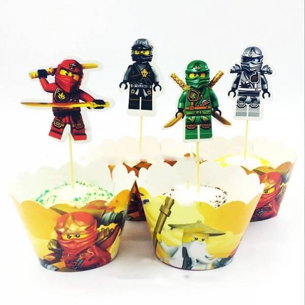 Bilde av Ninja, Cupcake wrappers 2, 12stk