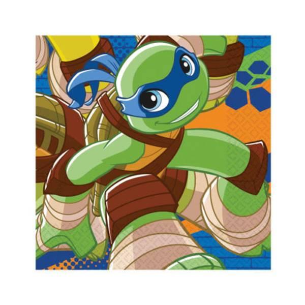 Bilde av Teenage Mutant Ninja turtles servietter 20stk