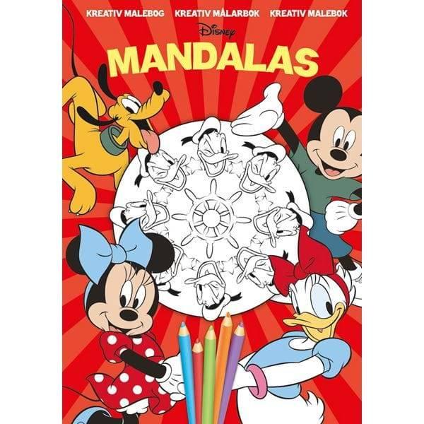 Bilde av Disney Kreativ Malebok, 24 sider!