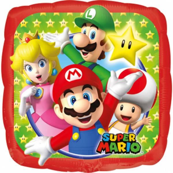 Bilde av Super Mario, Folieballong, 2 størrelser