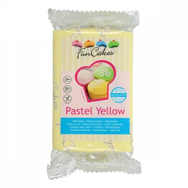 Bilde av Pastel Yellow, Fondant, 250g