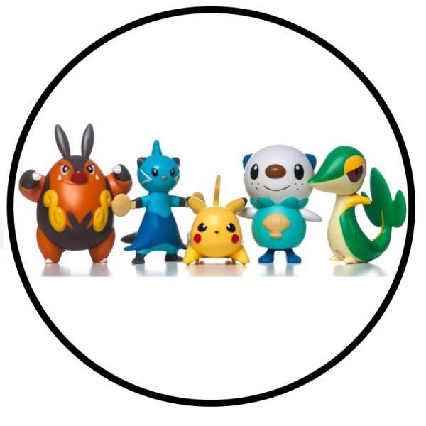 Bilde av Pokemon, Kakebilde, Sukkerpapir, 20 cm