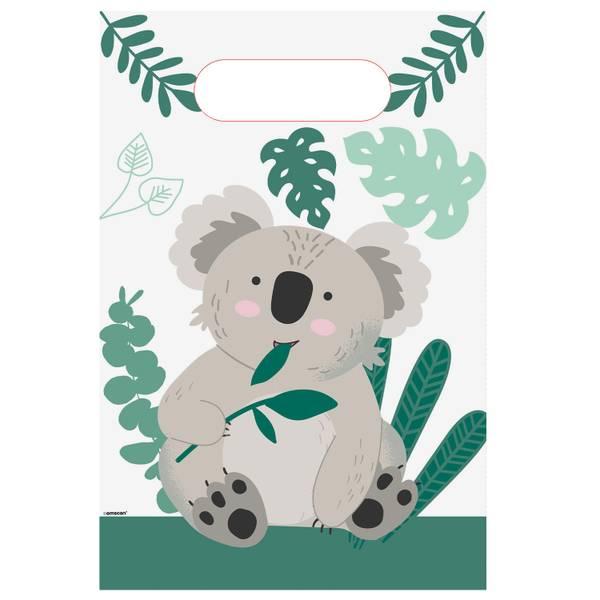 Bilde av Koala, Godteposer i papir, 8 stk