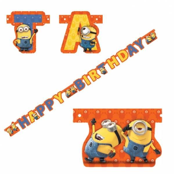 Bilde av Minions, Happy Birthday Banner 2