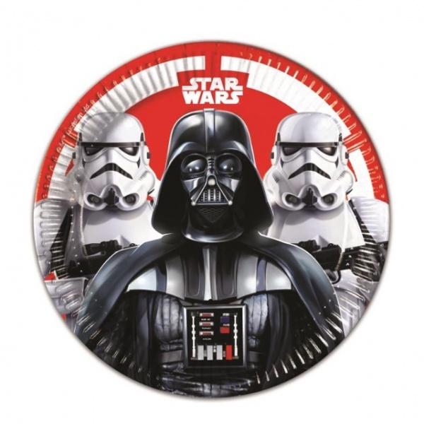 Bilde av Star Wars, Tallerken , 8 stk