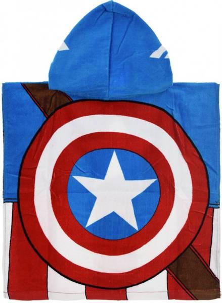 Bilde av Avengers Håndkleponcho, Captain America