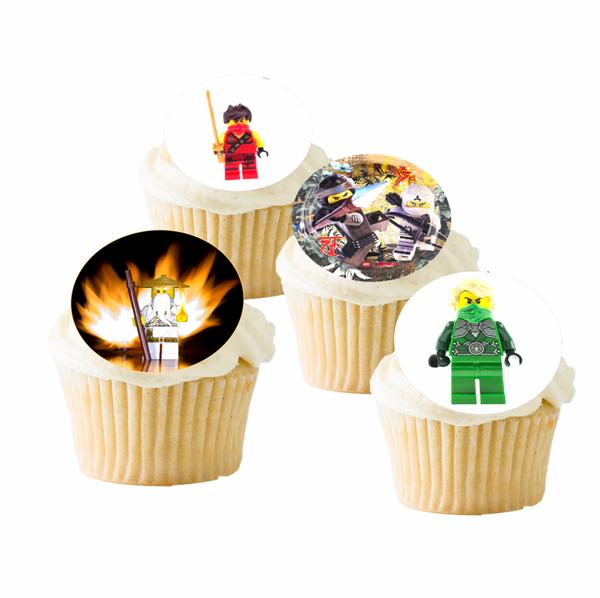 Bilde av Ninjago, Muffinsbilder, 16 stk