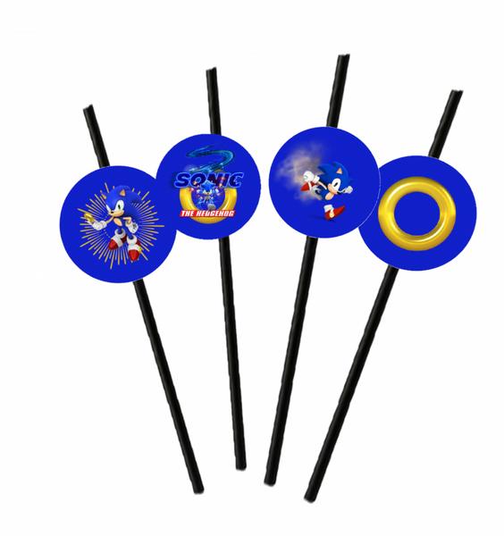 Bilde av Sonic, Sugerør, 2, 8 stk