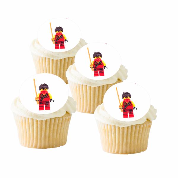 Bilde av LEGO Ninjago, Kay, Muffinsbilder, 12 stk