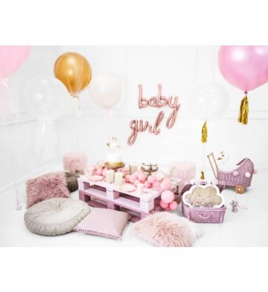 Bilde av Rosegull, Girl, Folieballongbanner