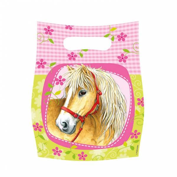 Bilde av Charming Horses, godteposer, 6 stk