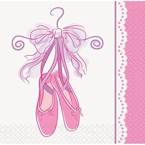 Bilde av Ballerina, Caféservietter, 16 stk