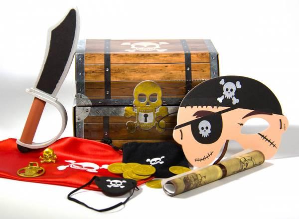 Bilde av Pirat-kit med Skattekiste