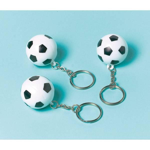 Bilde av Fotball Nøkkelring, 1 stk