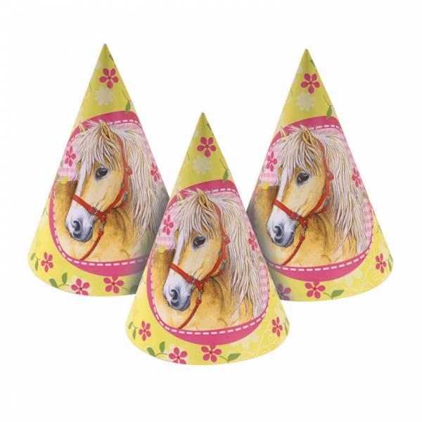 Bilde av Charming Horses, Partyhatter, 6 stk