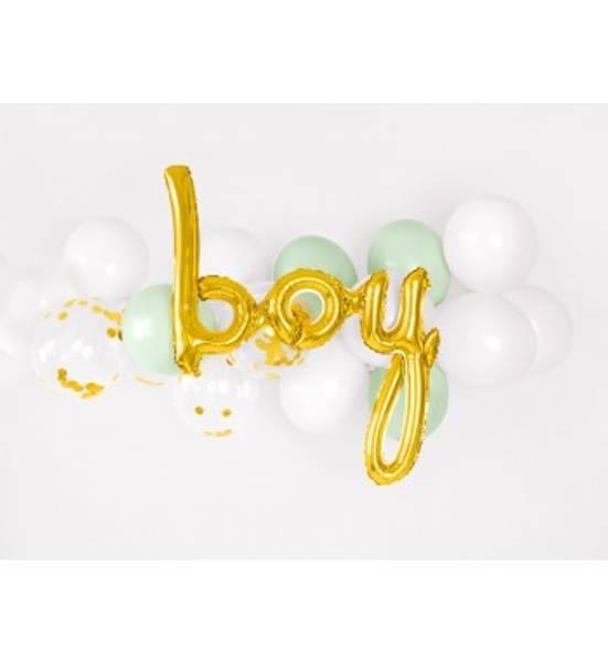 Bilde av Gull, Boy, Folieballongbanner