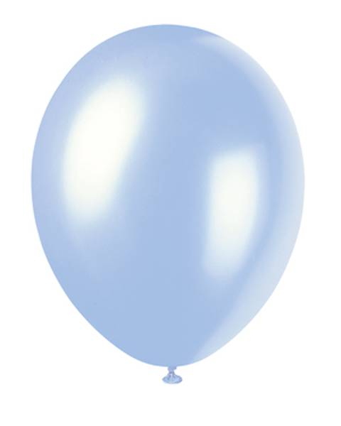 Bilde av Skye Blue, Ballonger, 50 stk