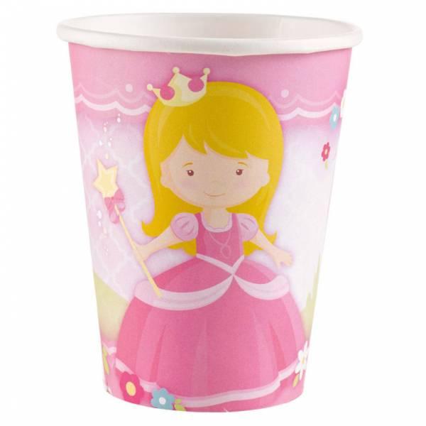 Bilde av Min Prinsesse, kopper, 8 stk