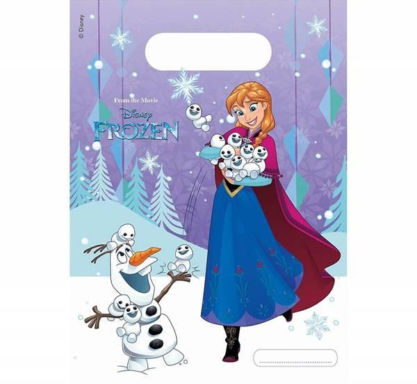 Bilde av Frost Snowflakes, godteposer, 6 stk