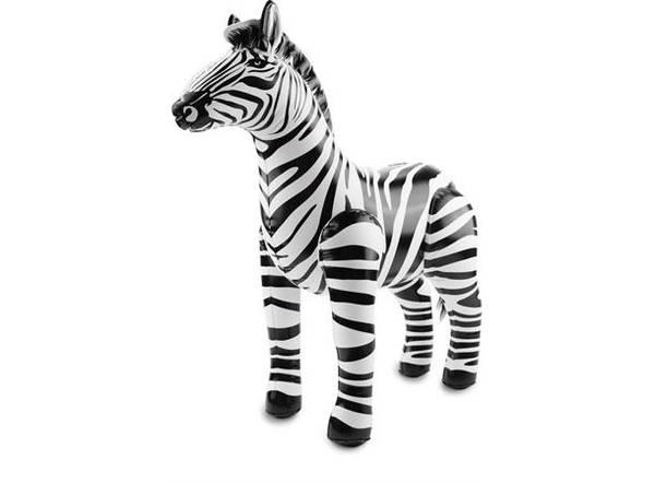 Bilde av Oppblåsbar Zebra