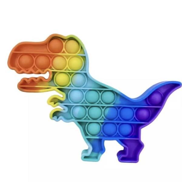 Bilde av Fidget Toy Dinosaur Pop it