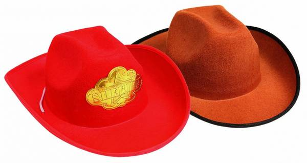 Bilde av Cowboy Hatt, Voksen Størrelse.