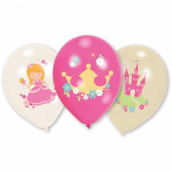 Bilde av Min Prinsesse, Ballonger, 6 stk