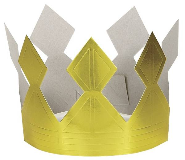 Bilde av Krone, Gull