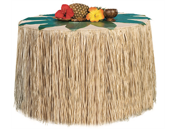 Bilde av Hawaii Naturfarget Bordskjørt - 275x70cm