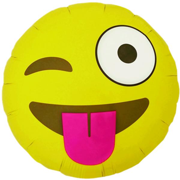 Bilde av Emoji Winking Folieballong 46cm