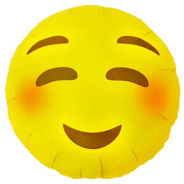 Bilde av Emoji Blushing Folieballong 46cm