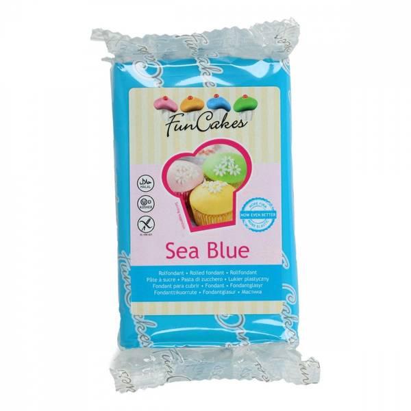 Bilde av Sukkerpasta, Sea Blue, 250g