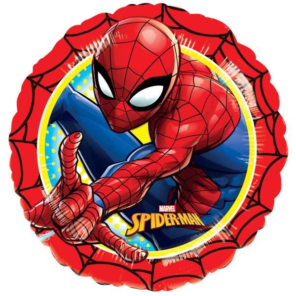Bilde av Spidermann Folieballong Rund