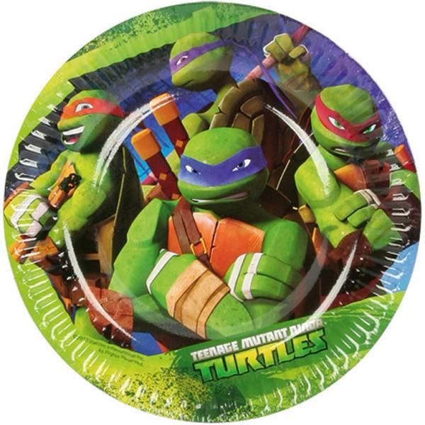 Bilde av Ninja Turtles, Asjetter, 8 stk