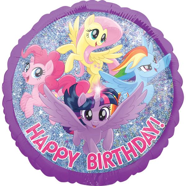 Bilde av My Little Pony, Folieballong, Happy Birthday