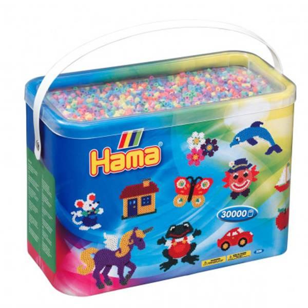 Bilde av Hama Midi spann 30000 – 52 Pastellmix