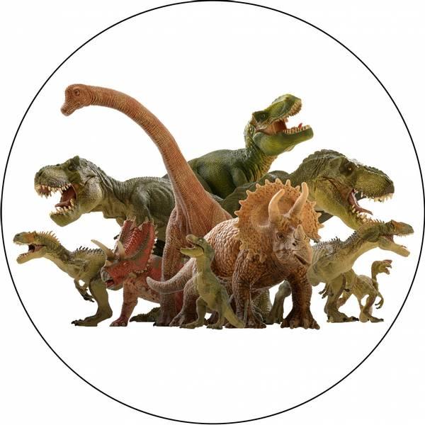 Bilde av Dinosaur Kakebilde 3, Sukkerpapir, 20 cm