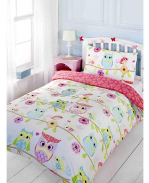 Bilde av Ugle sengesett 120 x 150