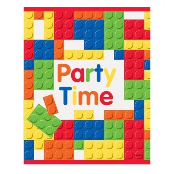 Bilde av Legoklosser Godteposer, 8 stk