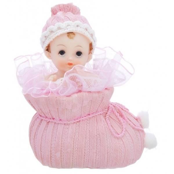 Bilde av Baby Porselensfigur, Rosa