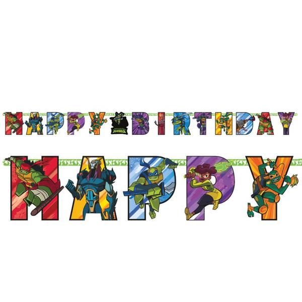 Bilde av Rise of The Ninja Turtles Banner