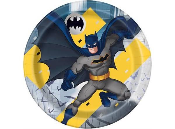 Bilde av Batman Tallerker, 8stk