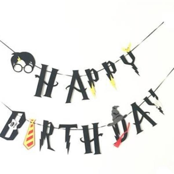 Bilde av Harry Potter-banner, Happy Birthday
