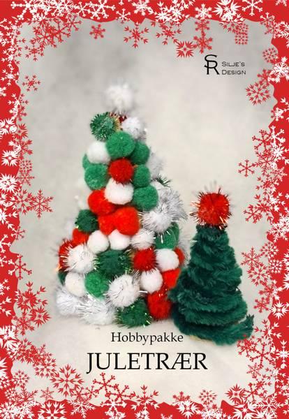 Bilde av Hobbypakke Jul- Juletrær, 2 stk🎄🎄