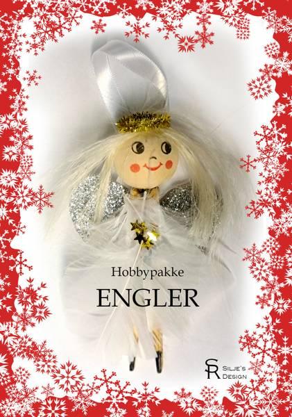 Bilde av Hobbypakke Jul- Engler, 2 stk😇😇