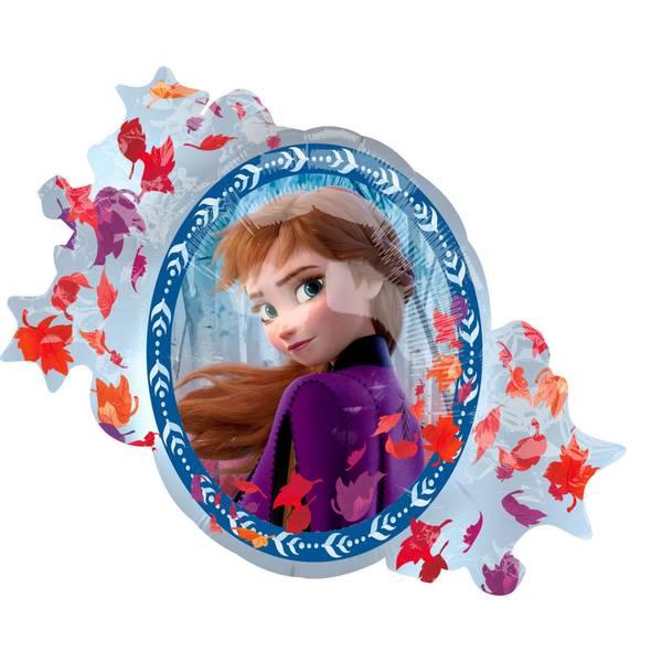 Bilde av Frost 2, Folieballong Elsa og Anna supershaped 76 cm