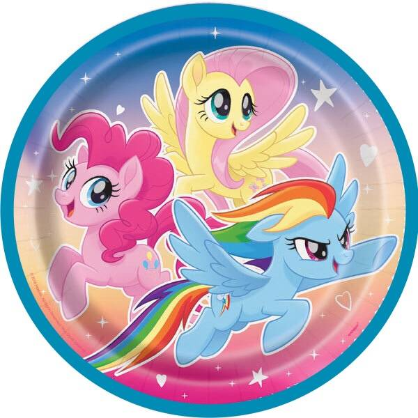 Bilde av My Little Pony, Kakebilde 6, Sukkerpapir, 20 cm