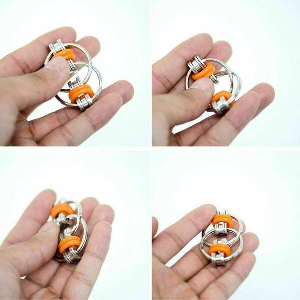 Bilde av Metal Relief Chain, Fidget Toy, pr stk